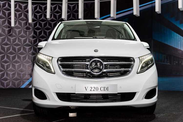 Mercedes-Benz V 200 CDI hình ảnh thực tế