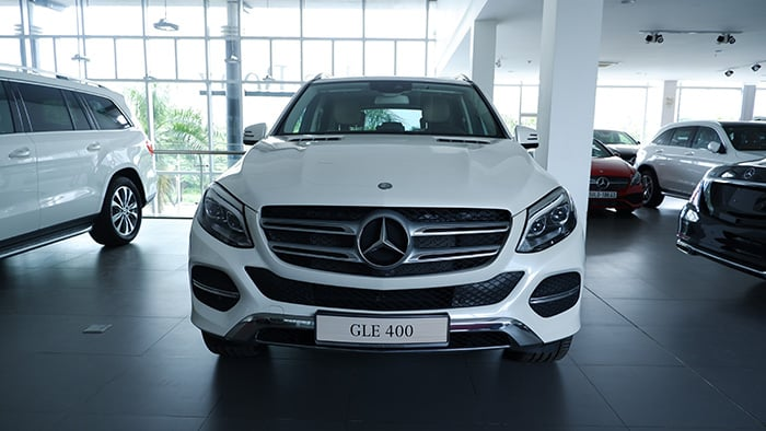 Thiết kế của Mercedes GLE 400 Exclusive