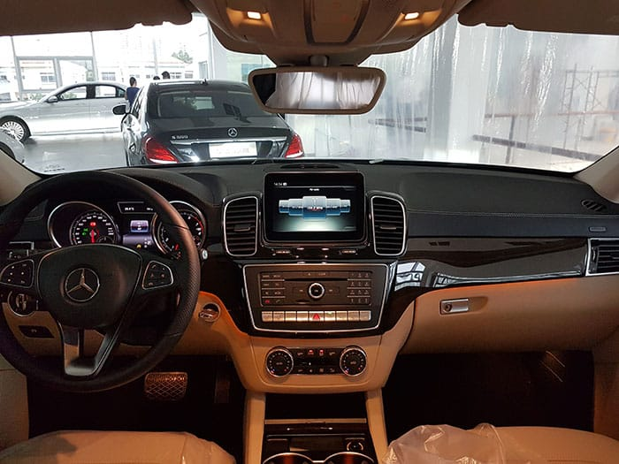 nội thất mercedes gle 400 coupe