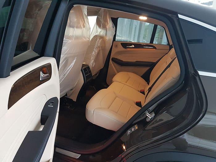 hàng ghế sau gle 400 coupe