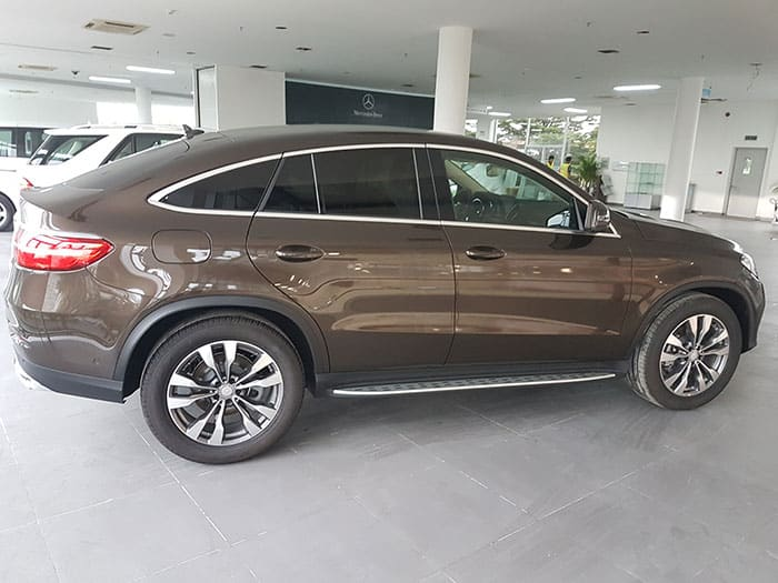 thân xe mercedes gle 400 coupe