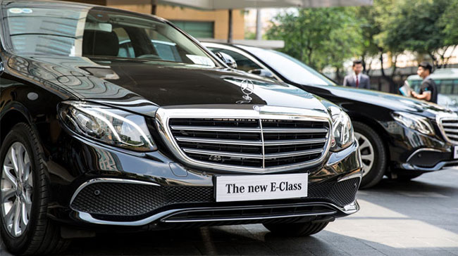E- Class Mẫu xe thượng lưu của thế giới