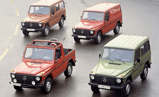 Mercedes-Benz G-CLass thế hệ đầu tiên