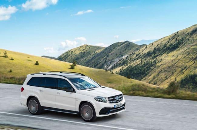 xe Mercedes-Benz GLS mới