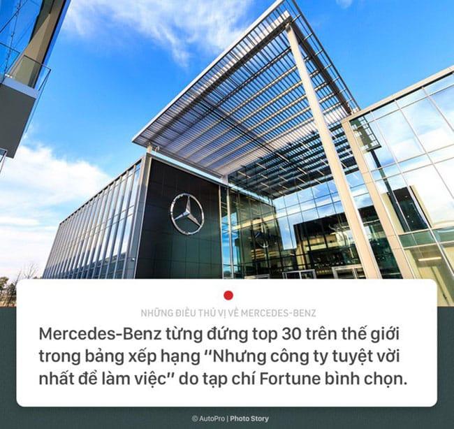 10 Điều thú vị về hãng xe Mercedes-Benz