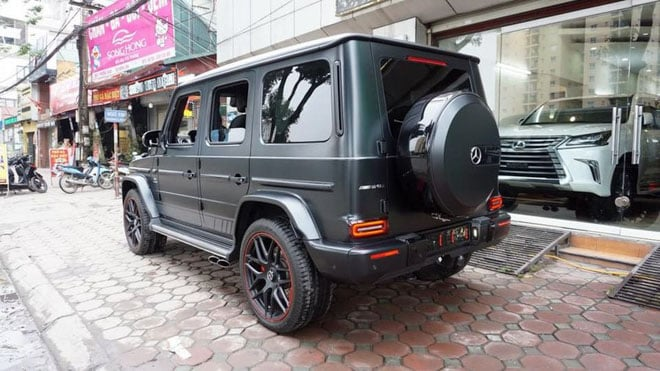 Mercedes G63 Edition One