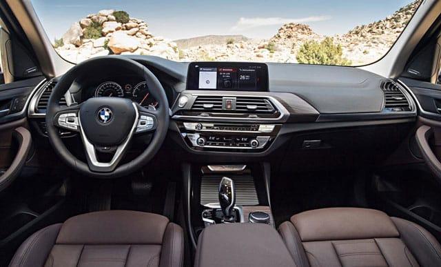 Nội thất của xe BMW X3