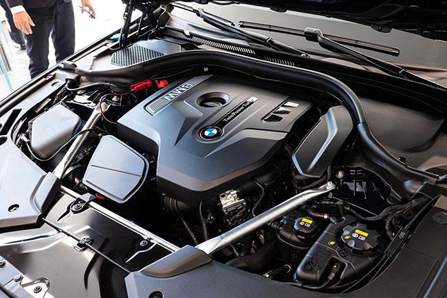 Khả năng vận hành của xe BMW 520i
