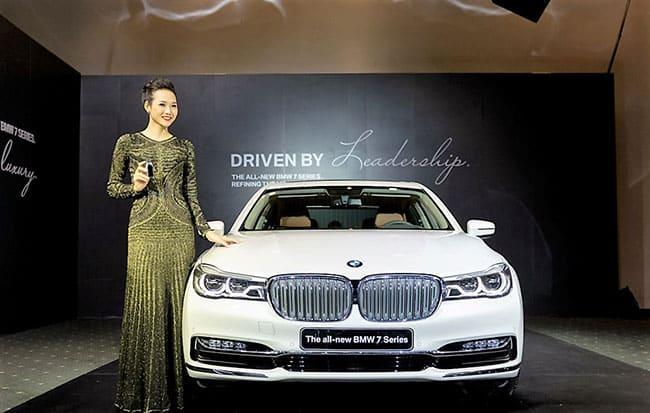 Giá xe BMW 740Li bao nhiêu