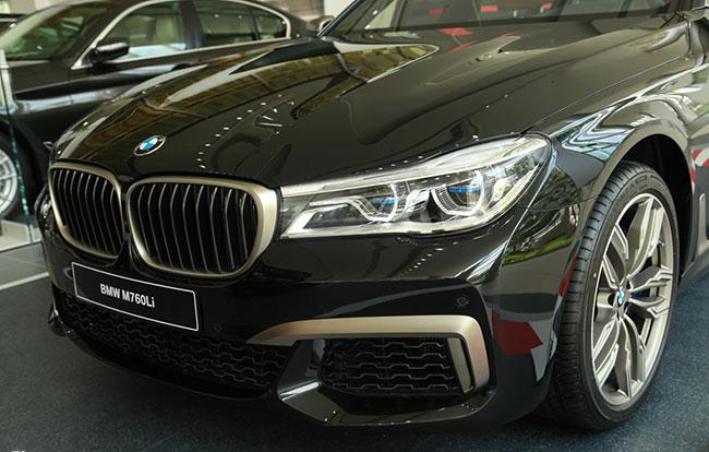 An toàn an ninh của xe BMW M760Li