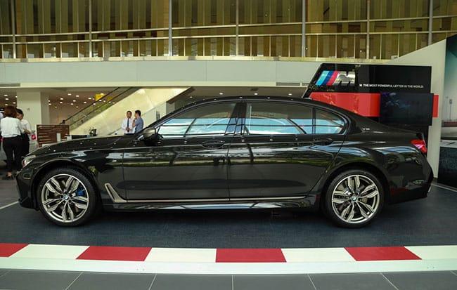 Thiết kế của xe BMW M760Li
