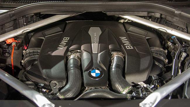 Khả năng vận hành của xe BMW X7