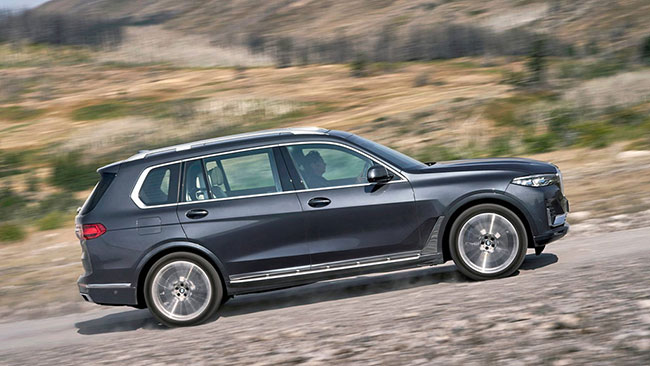 Thiết kế nội ngoại thất của xe BMW X7