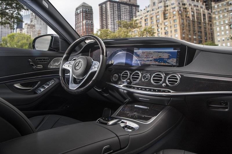 Khoang Cabin của Mercedes s450