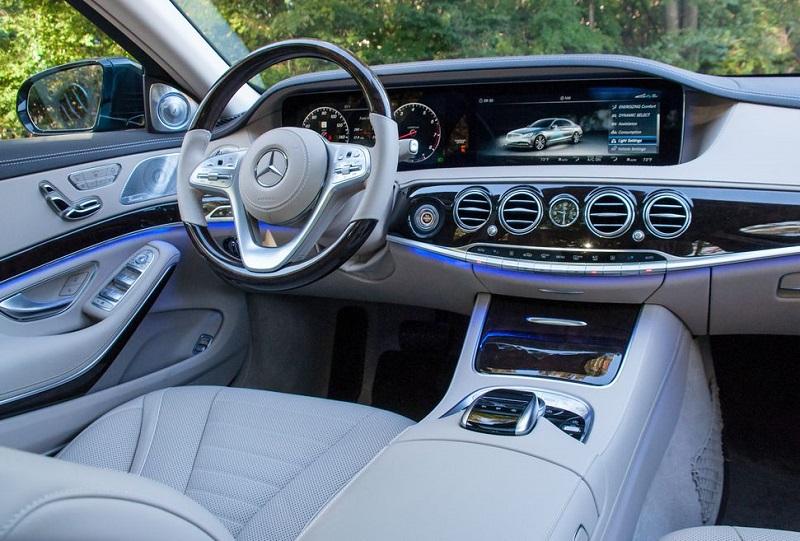 Nội thất Mercedes Benz S450