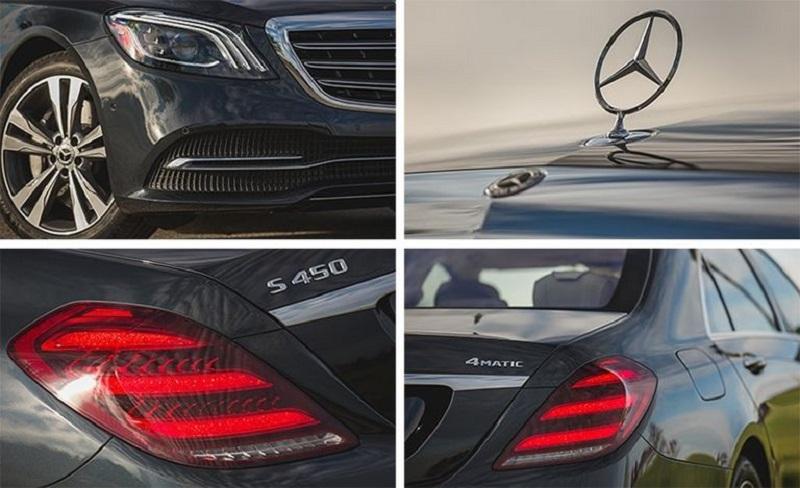 Thiết kế Mercedes s450 phác họa sự uy nghi của người dẫn đầu