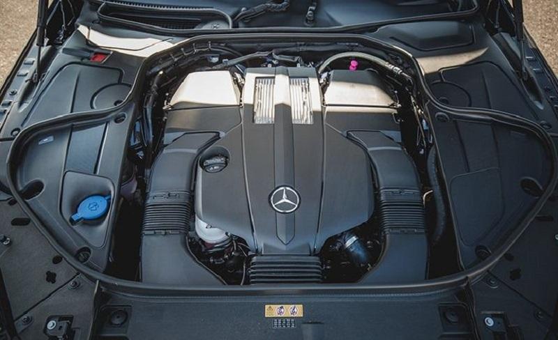 Mercedes s450 sở hữu động cơ có sức mạnh vượt trội