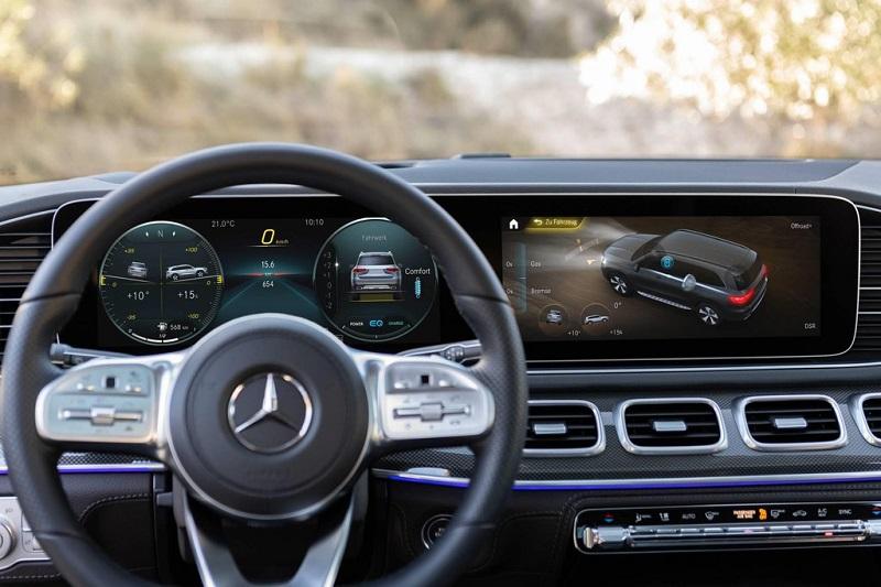 Nội thất, tiện nghi Mercedes GLS 2020