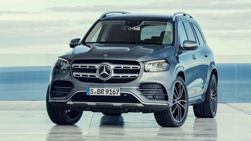 Ngoại thất mạnh mẽ của Mercedes Benz GLS 2020
