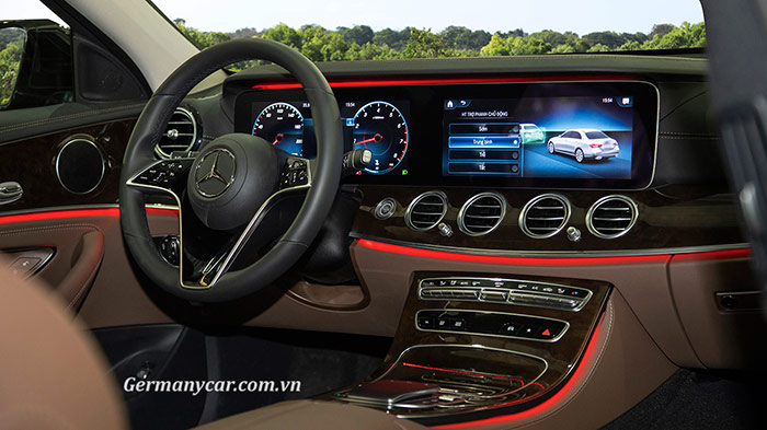 mercedes e200 exclusive 2021 - nội thất